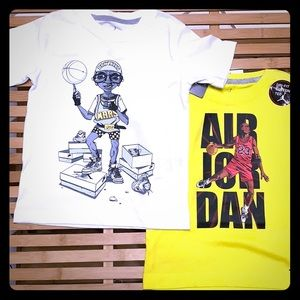 NWT MICHAEL JORDAN & SPIKE LEE tee shirt bundle